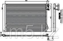 Радиатор кондиционера BMW 1-SERIES E87 04-