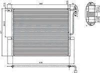 Радиатор кондиционера BMW X3 E83 03-10