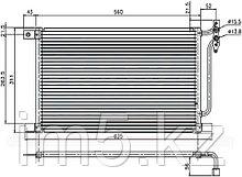 Радиатор кондиционера BMW 3-SERIES E46 98-05