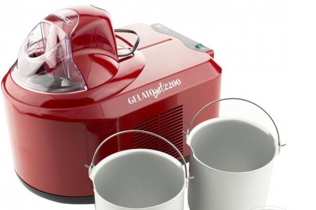 Вы можете готовить мороженое, используя основную либо дополнительную чашу