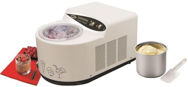 """С новой компрессорной мороженицей """"GELATISSIMO Exclusive"""" вы сможете приготовить до 1 кг вкусного десерта всего за полчаса!"""