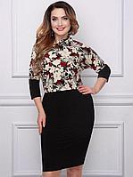 """Женское платье """"Азбука моды"""" 52 размер"""