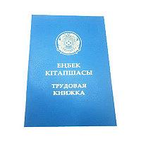 "Бланк документа ""Трудовая книжка"" пр.мин.т. и с.н.РК № 149 от 05.07.2007г."
