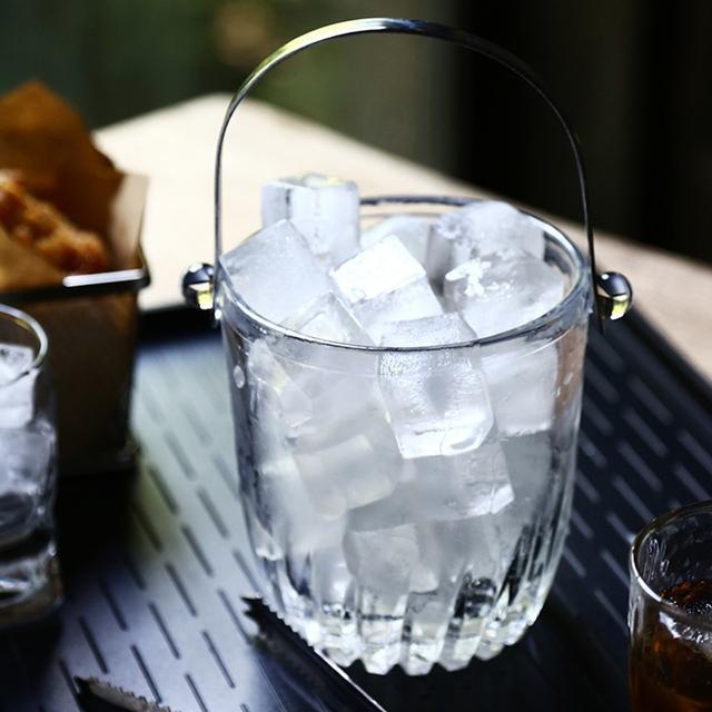 Ведра для льда стеклянные