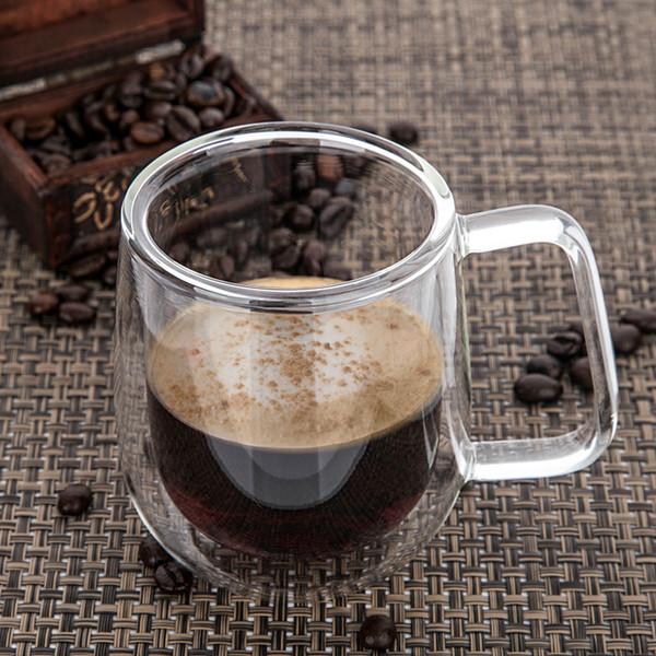 Кружки стеклянные для кофе