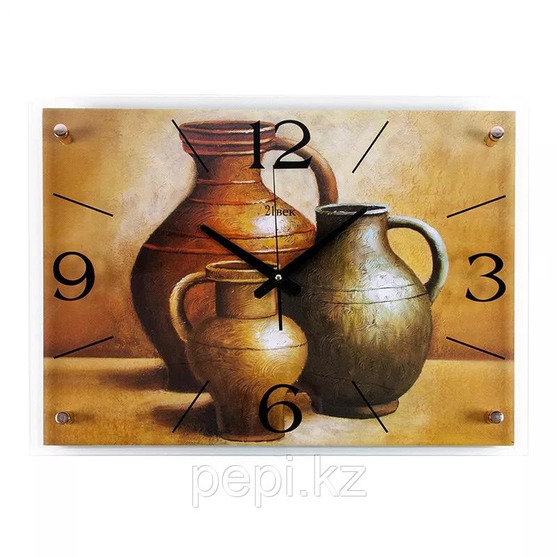 Часы настенные «3 кувшина», 40*56см, стекло