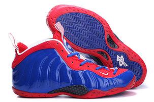 Баскетбольные кроссовки Nike Air Foamposite One синие, фото 2