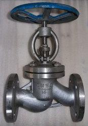 Клапан запорный фланцевый 15нж65п, 15нж65бк