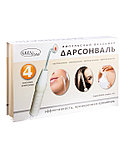 GEZATONE Дарсонваль для лица, тела и волос с 4 мя насадками, Biolift 4 118 (BT - 118), Gezatone , фото 3