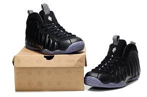 Nike Air Foamposite One Black кроссовки для баскетбола, фото 2