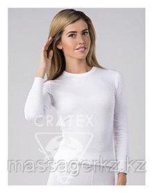 Термобелье CRATEX Женское термобелье с хитофайбером, комплект (цвет белый), Cratex