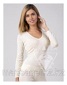 Термобелье CRATEX Женское термобелье шерстяное с ангорой, кофточка, Cratex