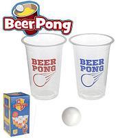 Игра настольная для взрослых «Барный Пин-Понг» BEER PONG