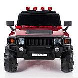 Электромобиль двухместный Hummer HC-9188 (лиценция), красный, фото 3