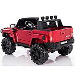 Электромобиль двухместный Hummer HC-9188 (лиценция), красный, фото 4