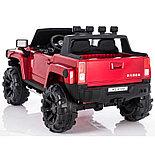 Электромобиль двухместный Hummer HC-9188 (лиценция), красный, фото 5