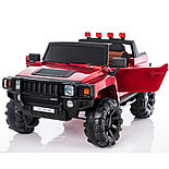 Электромобиль двухместный Hummer HC-9188 (лиценция), красный, фото 2