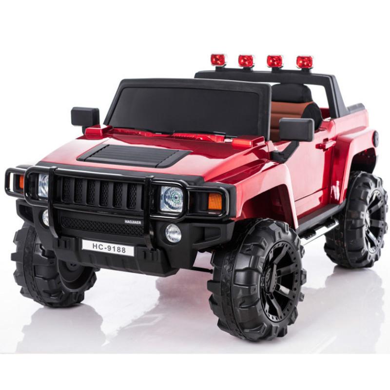 Электромобиль двухместный Hummer HC-9188 (лиценция), красный