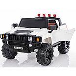 Электромобиль двухместный Hummer HC-9188 (лиценция), белый, фото 2