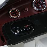 Электромобиль Bentley EXP12 (официальная лиценция), белый, фото 8