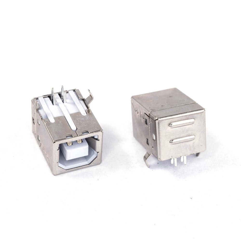 Гнездо USB тип B на плату под пайку