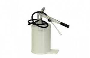 Солидолонагнетатель ручной 12л., шланг 1,8м., производительность 7,5 гр., за одно нажатие.