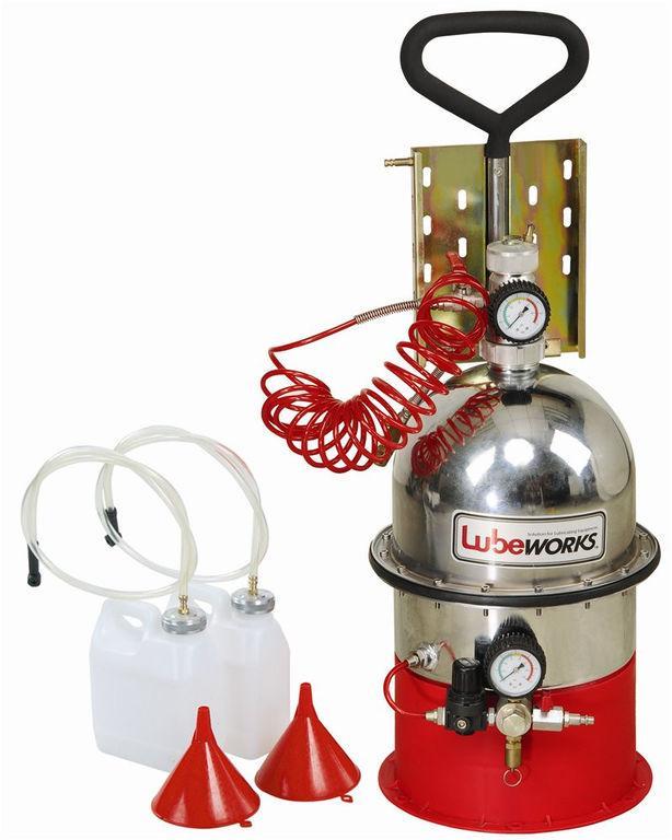 Установка по замене жидкости в тормозной системе и в сцеплении
