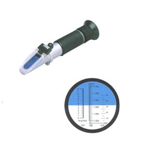 Рефрактометр – прибор для определения точки замерзания охлаждающей жидкости, плотности аккумуляторов и жидкости для стёкол.