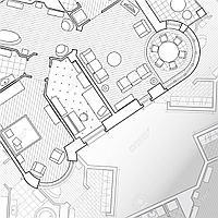 Планировки дизайна интерьера