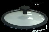 Крышка granhel из закаленного стекла с уплотнительным силконовым ободком 28 (GR)
