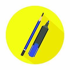 Карандаши и маркеры