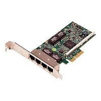 Сетевая карта Dell,Broadcom 5719 4x1GbE PCIe x4 (540-BBGX)