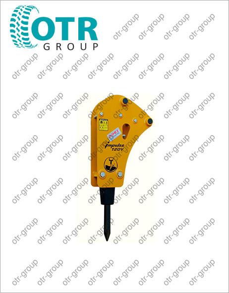 Гидромолот на экскаватор погрузчик Komatsu WB97S-2