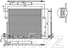 Радиатор кондиционера MERCEDES M-CLASS W164 05-