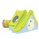 Детский игровой домик Keter FUNTIVITY Фунтик с горкой Голубой/Зеленый Blue/Green (240x174x104h), фото 2