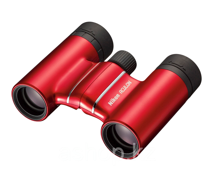 Бинокль туристический Nikon Aculon T01 10x21, Относительная яркость: 4,4, Сфера применения: Туризм, Цвет: Крас
