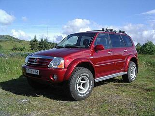 Усиленная подвеска Suzuki Xl7 1997-2005