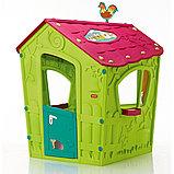 Игровой дом MAGIC Волшебный с петушком KETER Салатовый/Малиновый Green/Violet(110x110x146h), фото 2
