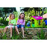 Игровой дом MAGIC Волшебный с петушком KETER Салатовый/Малиновый Green/Violet(110x110x146h), фото 3
