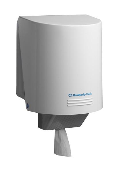 Диспенсер настенный для рулонов с центральной вытяжкой Kimberly-Clark 7088