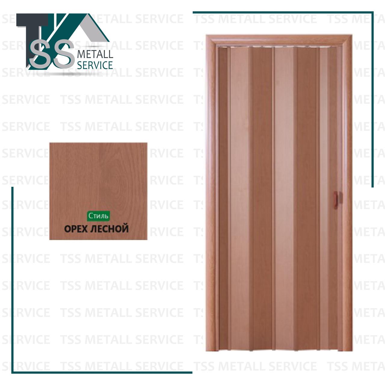 Раздвижная дверь (Гармошка) Орех лесной Россия