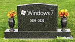 Прощание с Windows 7 может быть таким же медленным, как это было с Windows XP