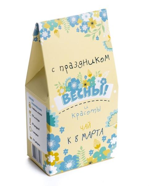 """Чай """"С праздником красоты"""""""