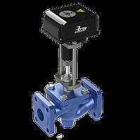 КЗР, Клапан запорно-регулирующий с электроприводом