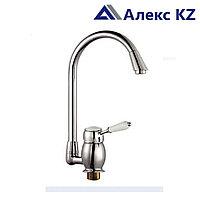 Смеситель KOLAG 2845 одноручный для кухни с высоким поворотным изливом