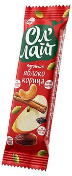 Безглютеновый Батончик Ол'Лайт® Яблоко & Корицa 30 грамм
