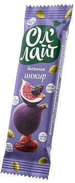 Безглютеновый Батончик Ол'Лайт® Инжир 30 грамм