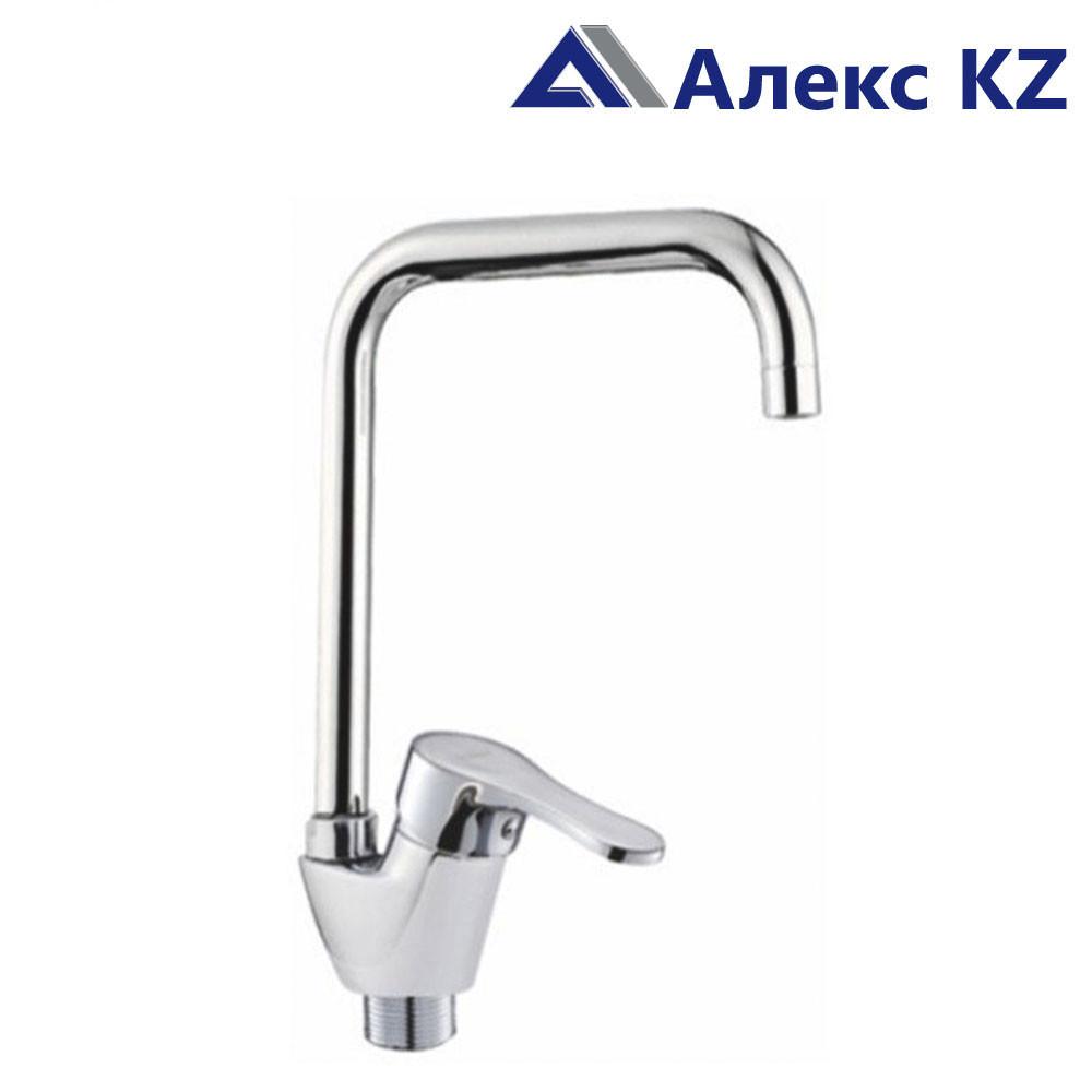 Смеситель KOLAG 1676  одноручный для кухни с высоким поворотным изливом