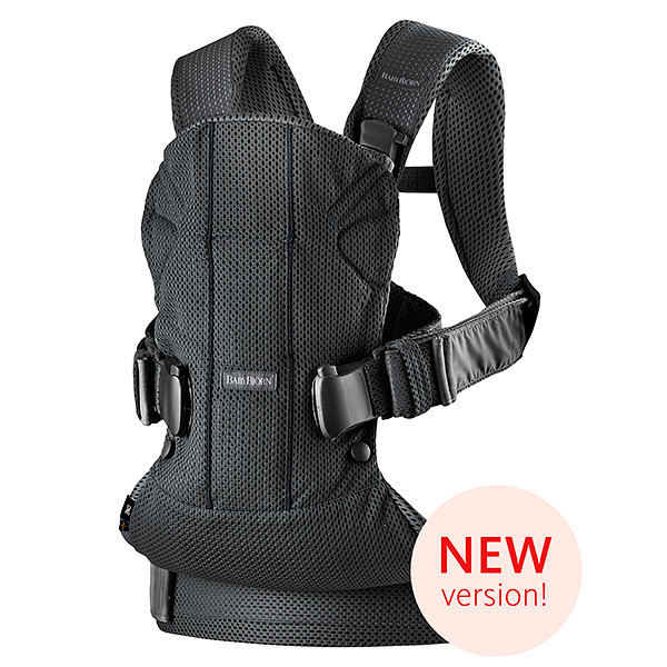 "Рюкзак-Кенгуру BabyBjorn ""One Mesh"" New version, 25 / Черный"