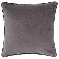 Чехол на подушку 65х65 САНЕЛА серый ИКЕА, IKEA, фото 1